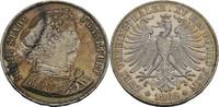 Doppelter Vereinstaler 1862 Frankfurt, Sta...