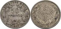 50 Pfennig, Berlin 1896 Kaiserreich  ss, w...