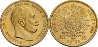10 Mark, Berlin 1873 Preußen Wilhelm I., 1...