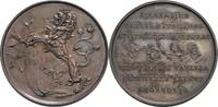 Bronze-Medaille 1891 Böhmen Prag fast vz