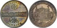 Medaille 1894 Braunau Simbach vz, iris. Pa...