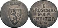 Groschen 1805 Reuß, ältere Linie Heinrich ...