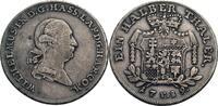 1/2 Taler, Kassel 1789 Hessen-Kassel Wilhe...