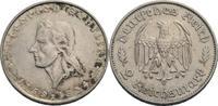 2 Reichsmark F, Stuttgart 1934 Drittes Rei...