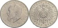 5 Mark D, München 1914 Bayern Ludwig III.,...
