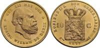 Niederlande 10 Gulden, Utrecht Wilhelm III., 1849-1890