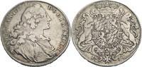 Konventions-Wappentaler 1760 Bayern Maximi...