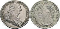 Konventionstaler, München 1778 Bayern Karl...