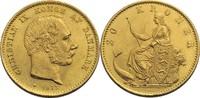 20 Kronen, Kopenhagen 1873 Dänemark Christ...