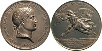 Bronzemedaille 1809 Frankreich Napoleon I....