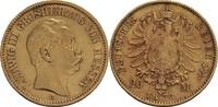 20 Mark 1873 Hessen Ludwig III., 1848-1877...