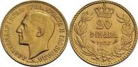 20 Dinara 1925 Jugoslawien Alexander I., 1...