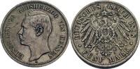 5 Mark 1898 Hessen Ernst Ludwig (1892-1918...