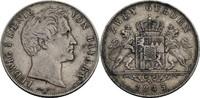 Doppelgulden 1845 Bayern Ludwig I., 1825-1...