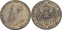 5 Mark 1908 Sachsen-Meiningen Georg II. (1...