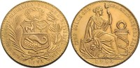 100 Soles 1965 Peru  fast vz, min. Kratzer
