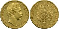 20 Mark 1878 D Deutschland Bayern König Lu...