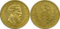 20 Mark 1888 A Deutschland Preussen Kaiser...