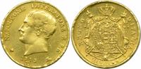 20 Lire 1813 M Italien Königreich Napoleon...