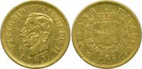 10 Lire 1863 Italien Victor Emmanuel II. ss
