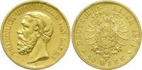 20 Mark 1874 G Kaiserreich Baden Friedrich...