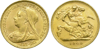 Half Sovereign 1900 Grossbritanien Victori...