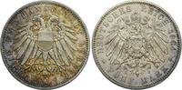 5 Mark 1904 A Kaiserreich Lübeck Freie und...