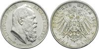 3 Mark 1911 D Kaiserreich Bayern Luitpold ...