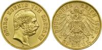 20 Mark 1903 E Kaiserreich Sachsen König G...