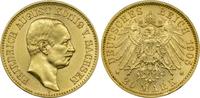 20 Mark 1905 E Kaiserreich Sachsen König F...