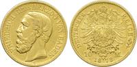 10 Mark 1873 G Kaiserreich Baden Friedrich...