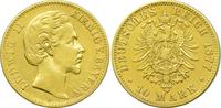 10 Mark 1877 D Kaiserreich Bayern König Ludwig II. ss  245,00 EUR  +  10,80 EUR shipping