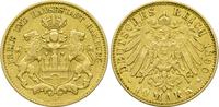 10 Mark 1890 J Kaiserreich Hamburg Freie und Hansestadt ss  215,00 EUR  +  10,80 EUR shipping