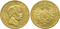 10 Mark 1872 H Kaiserreich Hessen Ludwig I...