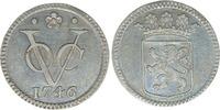 duit 1746  Zilveren  1746 Bijna st