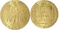 Gouden dukaat 1829 over 1 Koninkrijk der N...