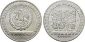 5 Unzen 1992. MEXIKO Republik. Stempelglanz