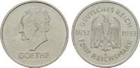 5 Reichsmark 1932 A. WEIMARER REPUBLIK  Vo...