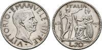 20 Lire Anno VI 1927, Rom. ITALIEN Victor ...