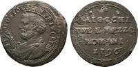 2 1/2 Baiocchi 1796, Rom. ITALIEN Pius VI....