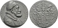 Bleimedaille 1595 (o.Sig SACHSEN Johann Fr...
