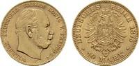 10 Mark 1875 C. Preussen Wilhelm I., 1861-...