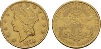 20 Dollar 1895 Philad USA  Kl. Rdf., Sehr ...