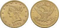 10 Dollar 1893 Philad USA  Vorzüglich +.