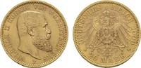 20 Mark 1900 F. Württemberg Wilhelm II., 1...
