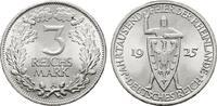 3 Reichsmark 1925, A. WEIMARER REPUBLIK  F...