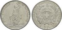 5 Franken 1872. SCHWEIZ Stadt. Vorzüglich-...