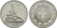 5 Franken 1861. SCHWEIZ  Fast vorzüglich.