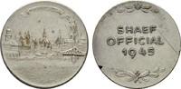 Versilberte Medaille 1945. DRITTES REICH  ...