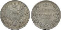 Rubel 1846. RUSSLAND Nikolaus I., 1825-185...